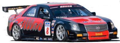 Galerie de photos de cette Cadillac CTS-V Racing de 2007, dans différentes courses, d'Atlanta à Laguna Seca.